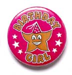 Birthday Girl School Badge